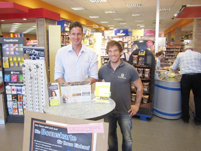 Kundenkarten-Promotion bei EDEKA Winkler, Weiterstadt