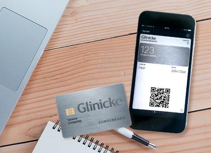 Kundenkarte und QR-Code-Login beim Autohändler Glinicke