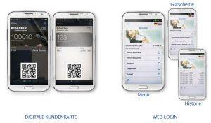 Digitale-Kundenkarte/Kundenkarten-App Autohaus Schade