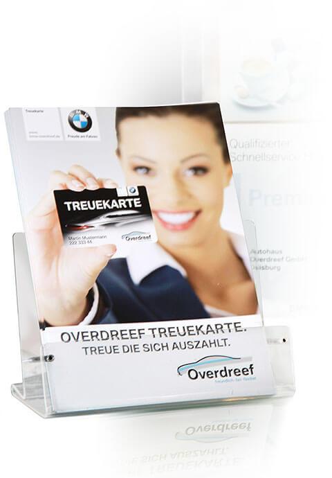 Kundenkartenpräsentation Autohaus Overdreef
