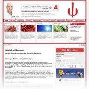 Kundenkarten-LogIn der Apotheken Wagner in Geldern und Moers