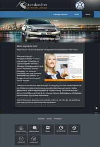 Die Kundenkarte auf der Website von VW-Audi-Autohaus Rittersbacher