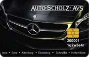 Die Kundenkarte AVS der Autohaus-Gruppe Scholz