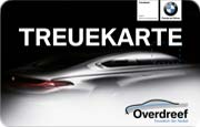 Die Kundenkarte im BMW Autohaus Overdreef