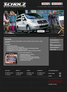 Die Kundenkarte auf der Website von Autohaus Scholz
