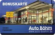 Die Kundenkarte im Ford Autohaus Böhm