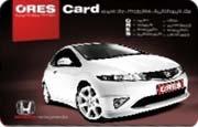 Die Kundenkarte im Honda Autohaus Ores
