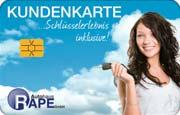 Die Kundenkarte im Kia Autohaus Rape
