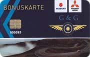 Die Kundenkarte im Autohaus Suzuki Gross & Geis