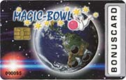 Die Kundenkarte im Bowlingcenter Magic-Bowl