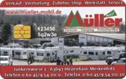 Die Kundenkarte bei Müller mobil