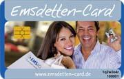 Die CityCard/Bonuskarte in Emsdetten