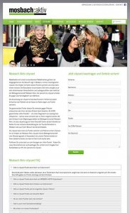 Die CityCard/Rabattkarten-Website von Mosbach