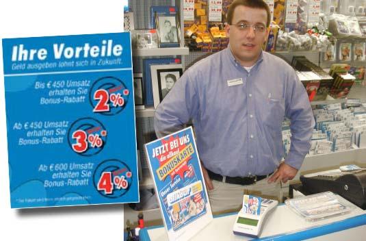 Die Bonuskarte im Foto Allkauf Kleve