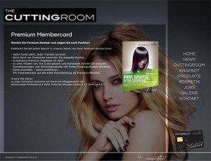 Die Kundenkarte auf der Website von CuttingRoom