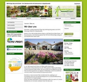 Kundenkarte im Web von KBM Krüger Baumarkt