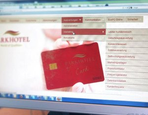 Die Kundenkarte/Bonuskarten auf der Website Parkhotel Bad Griesbach