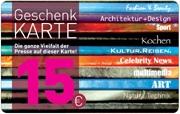 Die Geschenkkarte 15 EUR im Presse-kiosk Skora