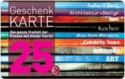 Die Geschenkkarte 25 EUR im Presse-Kiosk Skora