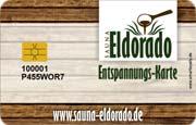 Die Kundenkarte in der Sauna Eldorado
