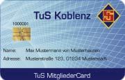 Die Kundenkarte im Stadion Koblenz