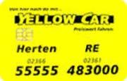 Die Kundenkarte bei Taxi Gerdes