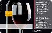 Die Kundenkarte im Weinhandel Salzer Weine
