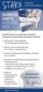 Kundenkarten-Flyer Seite 1
