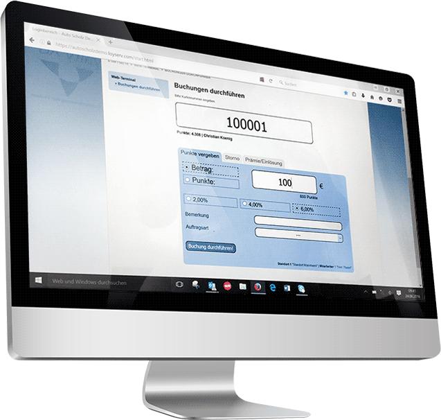 EcoWeb Kundenkarten-Terminal für PC
