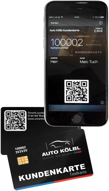 Digitale Kundenkarte statt Kundenkarten-App