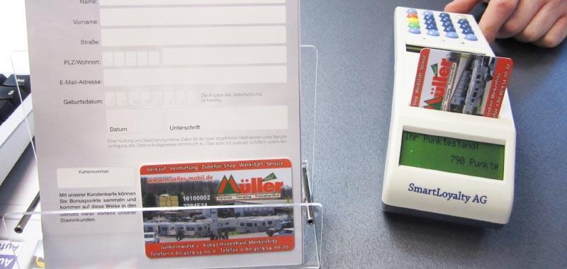Das Bonuskarten-System bei Caravan- und Campinghandel Müller