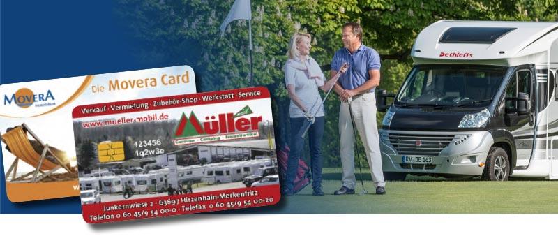 Kundenkarten/Bonuskarten bei Caravan- und Campinghandel Müller