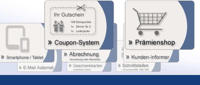 Module für das SmartLoyalty Kundenkartensystem