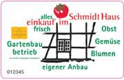 Die Kundenkarte/Bonuskarte im Biomarkt Schmidt-haus
