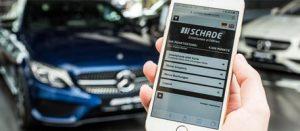Die Kundenkarten-App im Mercedes Autohaus Schade