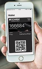 Die Kundenkarten-App Autohaus Schade im Wallet