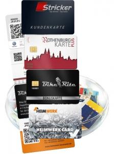 Kundenkarten mit Chip oder QR-Code