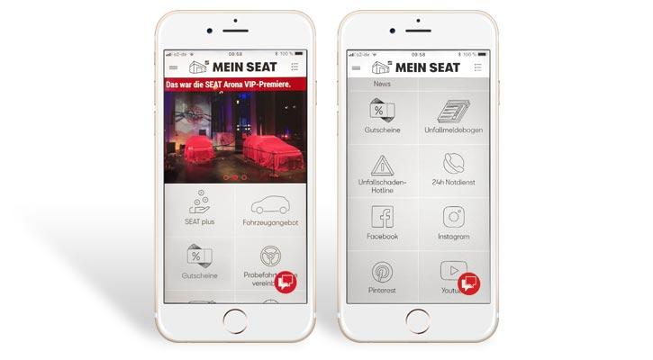 die kundenkarten app bei seat smartloyalty ag. Black Bedroom Furniture Sets. Home Design Ideas