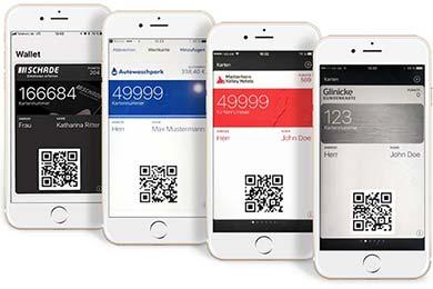 Digitale Kundenkarten von SmartLoyalty