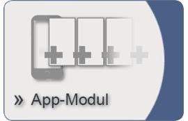 Icon App-Modul für Kundenkarten-System