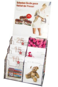Dispenser mit Geschenkkarten