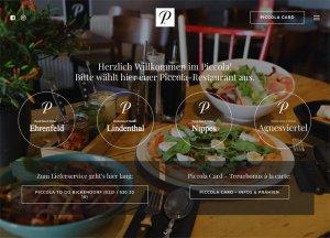 Webseite von Piccola