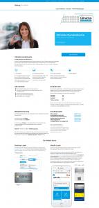 Die Kundenkarte auf der Website der Automobilgruppe Glinicke