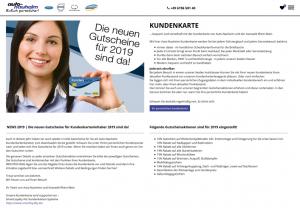 Die Kundenkarte auf der Website von Auto-Nauheim