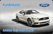 Kundenkarte/Bonuskarte im Ford Autohaus Tönjes
