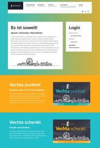 Die CityCard-Website von Vechta