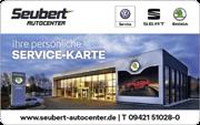 Die Kundenkarte im Skoda Seubert Autocenter