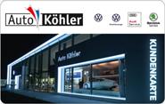 Die Kundenkarte von Auto Köhler
