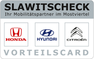Die Kundenkarte vom Autohandel Slawitscheck