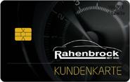 Die Kundenkarte der Rahenbrock Gruppe
